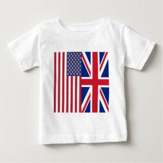 Facklig jack och USA flaggor T Shirts