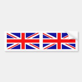 Facklig jackbildekal för brittisk flagga bildekal