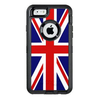 Facklig jackflagga av Förenade kungariket OtterBox Defender iPhone Skal