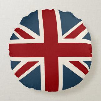 Facklig jackflagga för klassiker rund kudde