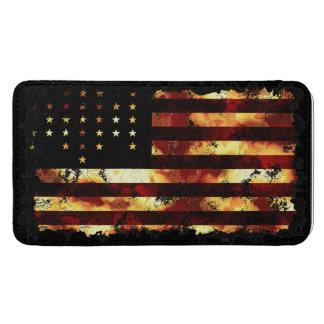 Facklig standert för flaggaamerikaninbördeskrig mobil fodral ficka