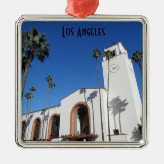 Facklig station Los Angeles Julgransprydnad Metall
