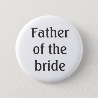 Fadern av bruden knäppas standard knapp rund 5.7 cm