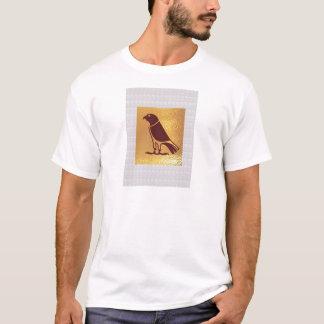 FÅGEL av KONST för uggla för rovörnhök grafisk Tee Shirts