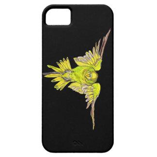 Fågel för flygBudgie australier iPhone 5 Cover