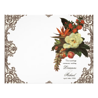 Fågel för Magnolias n av paradiset - Reklamblad