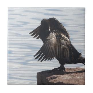 Fågel i flyg kakelplatta