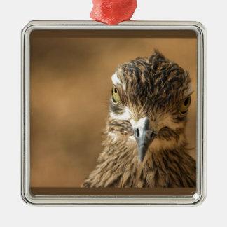 Fågel… med inställning julgransprydnad metall