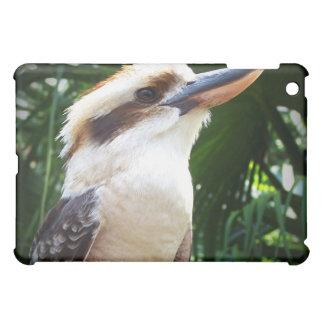 fågel mot gröna Kookaburra iPad Mini Mobil Fodral