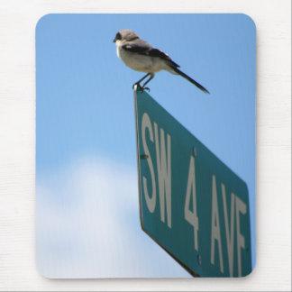 Fågel på 4th Ave. mousepad Musmatta