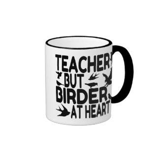 Fågelälskarelärare Kaffe Koppar