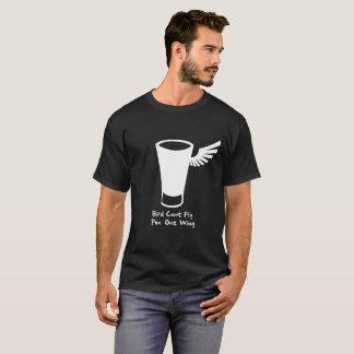 Fågeln kan inte flyga vingen för pon en t shirts
