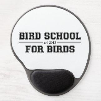 Fågeln skolar som är för fåglar gelé mus-mattor