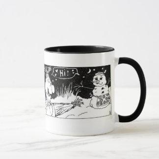 Fågelskrämma och Snowladyen Mugg