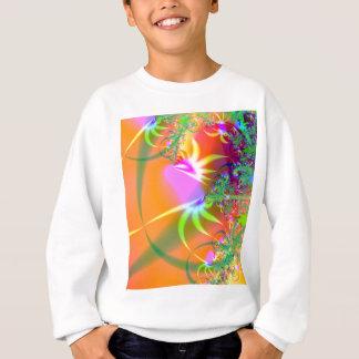 Fåglar av den abstrakt Fractaldesignen för paradis T Shirt