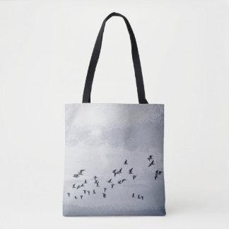 Fåglar i flyg tygkasse