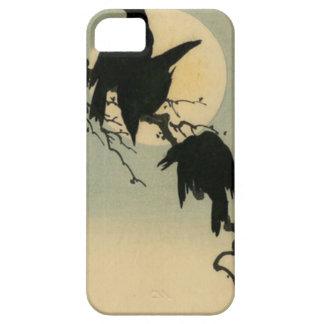 Fåglar i månsken iPhone 5 cover