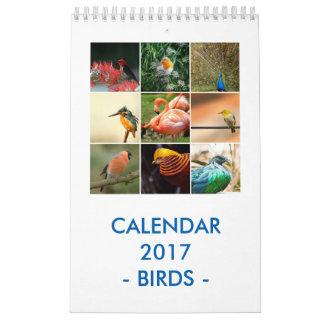 Fåglar Kalender