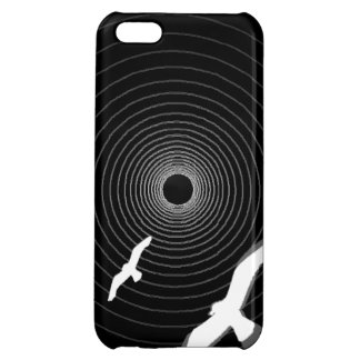 fåglar tänder på avsluta av tunnelen iPhone 5C mobil fodral