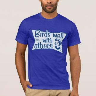 Fåglar väller fram med andra tröja