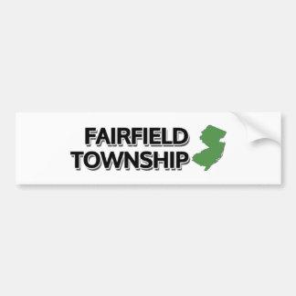 Fairfield församling som är ny - jersey bildekal