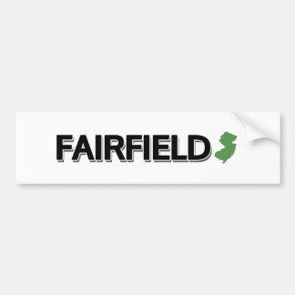 Fairfield som är ny - jersey bildekal
