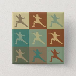 Fäkta popkonst standard kanpp fyrkantig 5.1 cm