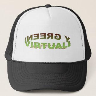Faktiskt grön hatt keps