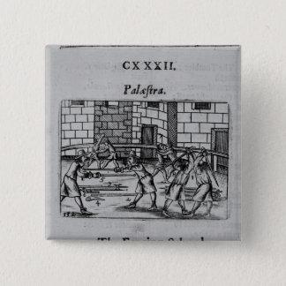Fäktningen skolar standard kanpp fyrkantig 5.1 cm