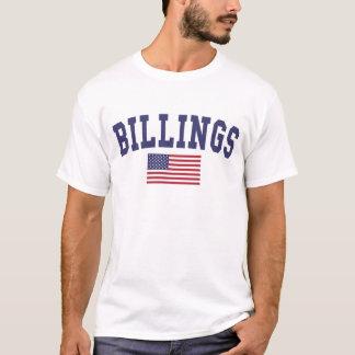 FaktureringsUS-flagga T-shirts