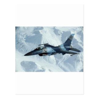 FALK FÖR STRIDIGHET F-16 VYKORT