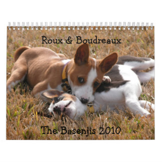 FalkfotografiBasenji kalender 2010