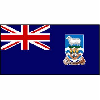 Falkland Islands flagga Photo Sculpture
