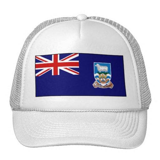 Falkland Islands flagga Trucker Kepsar