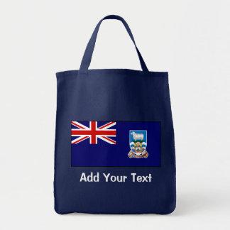 Falkland Islands flagga Mat Tygkasse