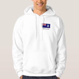 Falkland Islands flagga Sweatshirt Med Luva
