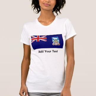 Falkland Islands flagga T Shirt