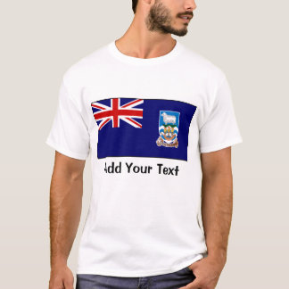 Falkland Islands flagga T-shirts