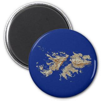 Falkland Islands kartamagnet Magnet