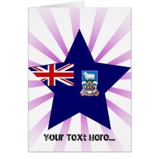 Falkland+Östjärna Hälsnings Kort
