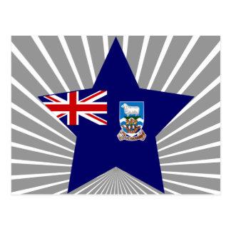 Falkland+Östjärna Vykort