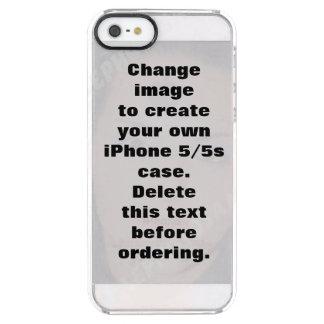 Fall för personligfotoiPhone 5/5s Clear iPhone SE/5/5s Skal