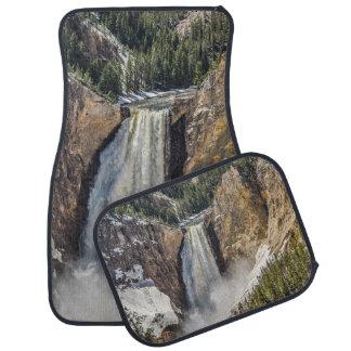 Fäll ned nedgångar av Yellowstonen i vår Bilmatta