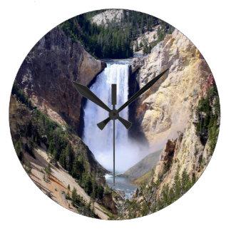 Fäll ned Yellowstone nedgångar Stor Klocka