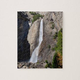 Fäll ned Yosemite Falls från överbryggar Pussel