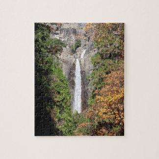 Fäll ned Yosemite Falls i November Pussel