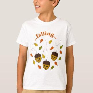 Fallande ekollonar t shirts