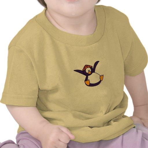 Fallande pingvinT-tröja