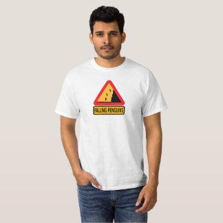 Fallande pingvinT-tröja Tshirts