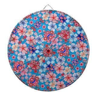 Falln blått som applåderar blom- Chirimen Piltavla